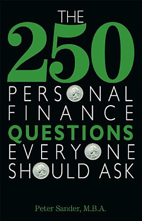 The 250 Personal Finance Questions Everyone Should Ask PDF