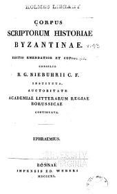 Corpus scriptorum historiae byzantinae: Volume 43