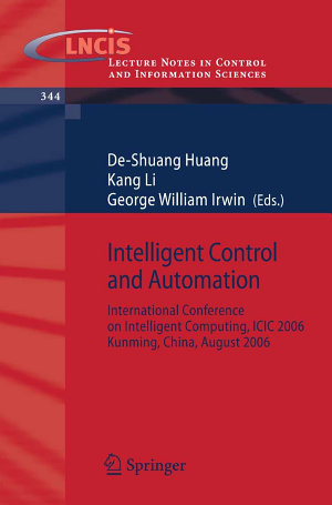 Intelligent Control and Automation