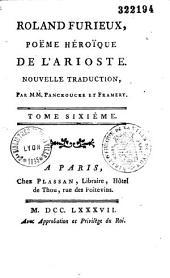 Roland Furieux, Poëme héroïque de l'Arioste