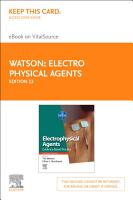 Electro Physical Agents E Book PDF