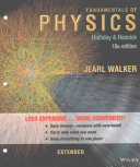 Fundamentals of Physics Extended 10E Binder Ready Version with WileyPlus Card