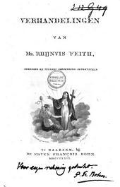 Verhandelingen van Mr. Rhijnvis Feith