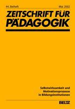 Selbstwirksamkeit und Motivationsprozesse in Bildungsinstitutionen PDF