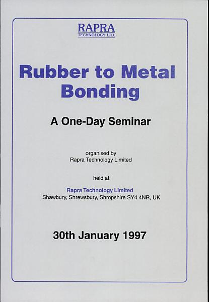 Download Rubber to Metal Bonding Book