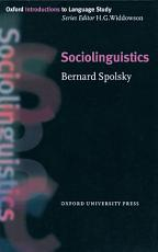 Sociolinguistics PDF