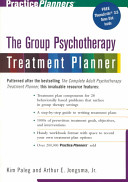 The Group Therapy Treatment Planner Book