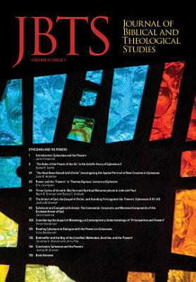 Journal of Biblical and Theological Studies  Issue 5 1