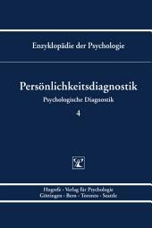 Themenbereich B: Methodologie und Methoden / Psychologische Diagnostik / Persönlichkeitsdiagnostik