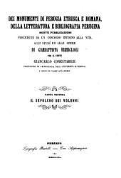"""""""Il"""" sepolcro dei volunni: Volume 2"""