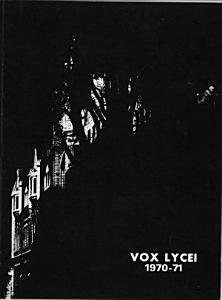 Vox Lycei 1970-1971