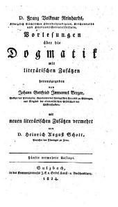 Vorlesungen über die Dogmatik