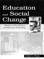 Education and Social Change PDF