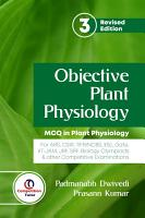 Objective Plant Physiology 3rd Revised Edition  MCQs in Plant Physiology PDF
