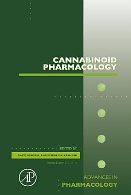 Cannabinoid Pharmacology PDF