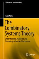 The Combinatory Systems Theory PDF