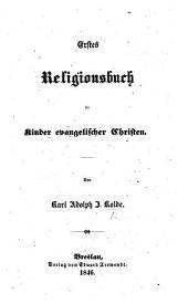Erstes Religionsbuch für Kinder evangelischer Christen