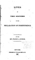 Lives of the Signers to the Declaration of Independence PDF