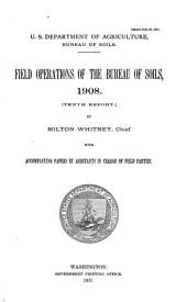 Field operations of the Bureau of Soils: Volume 10