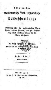 Allgemeine physikalische Erdbeschreibung: 1,3,4