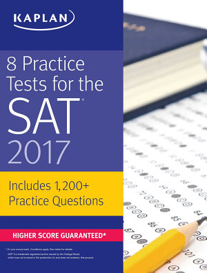 8 Practice Tests for the SAT 2017 PDF