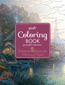 Posh Adult Coloring Book  Thomas Kinkade Peaceful Moments PDF