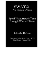 SWAT No-Huddle Offense