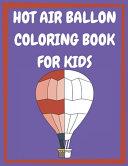 Hot Air Balloon Coloring Book