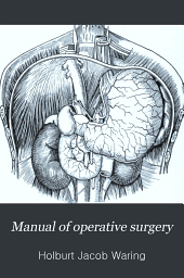 Manual of operative surgery