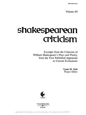 Shakespearean Criticism PDF