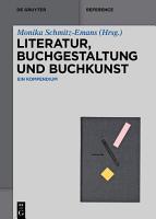 Literatur  Buchgestaltung und Buchkunst PDF