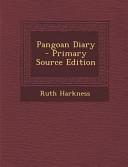 Pangoan Diary   Primary Source Edition