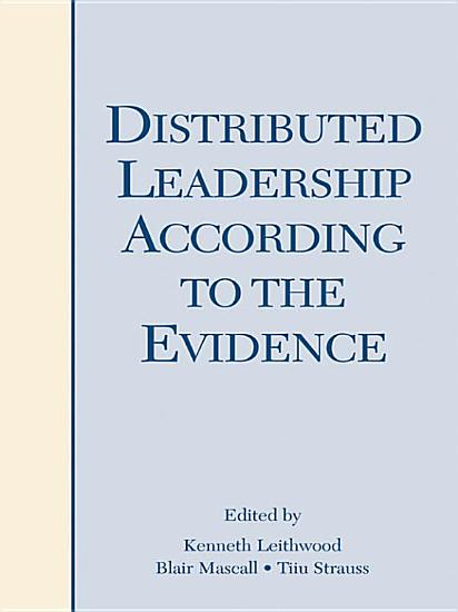 Distributed Leadership According to the Evidence PDF