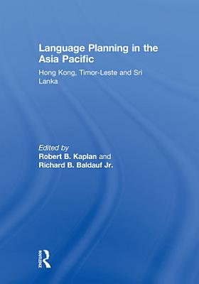 Language Planning in the Asia Pacific PDF