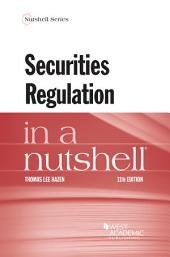Securities Regulation in a Nutshell: Edition 11