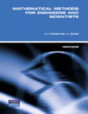 Mathematical Methods for Engineers and Scientists