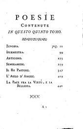 Poesie, giusta le correzioni fatte dall'autore nell'edizione di Parigi: Volume 5