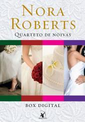 Box Quarteto de noivas: Série completa com os 4 títulos - Álbum de casamento, Mar de rosas, Bem-casados e Felizes para sempre