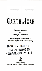 Garth of Izar PDF