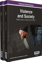 Violence and Society  Breakthroughs in Research and Practice PDF