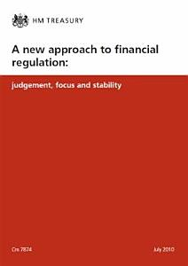 A new approach to financial regulation PDF