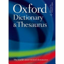 Oxford Dictionary and Thesaurus PDF