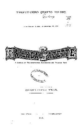 Railroad Gazette PDF