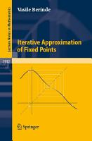 Iterative Approximation of Fixed Points PDF