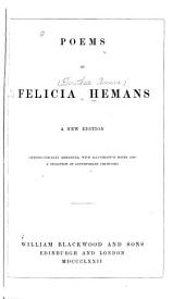 Poems of Felicia Hemans