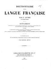 Dictionnaire de la langue française: par E. Littré, Volume1