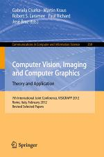 Computer Vision, Imaging and Computer Graphics - Theory and Applications
