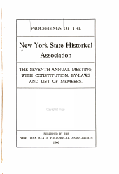 Proceedings of the New York State Historical Association: Volume 6