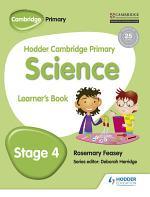Hodder Cambridge Primary Science Learner's Book 4