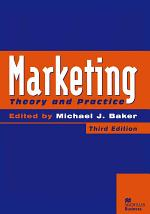 Marketing: Theory and Practice